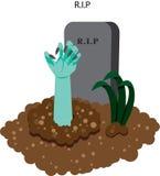 Descanso na paz (RASGO) ilustração stock