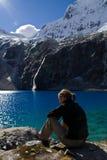 Descanso no lago Imagens de Stock Royalty Free