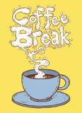 Descanso para tomar café Imagen de archivo