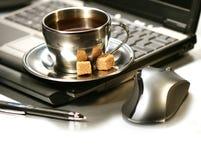 Descanso para tomar café de la mañana Foto de archivo