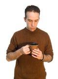 Descanso para tomar café del empleado Foto de archivo libre de regalías