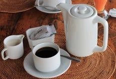 Descanso para tomar café en Asia Imagenes de archivo