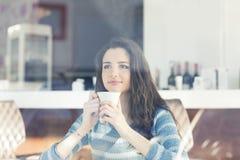 Descanso para tomar café en el café Fotografía de archivo