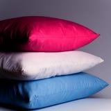 Descansos cor-de-rosa, brancos e azuis Imagem de Stock Royalty Free