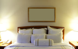 Descansos do hotel Foto de Stock Royalty Free