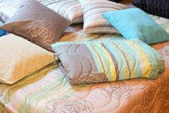 Descansos e cobertor Imagens de Stock Royalty Free