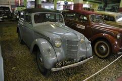 Descapotable soviético de Moskvitch 400 del coche fotografía de archivo libre de regalías