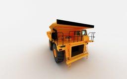 Descarga amarela Imagem de Stock Royalty Free