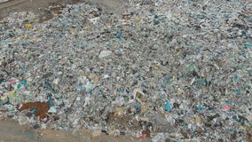 Descarga de basura grande almacen de video