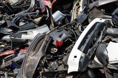 Descarga de destruições do carro Fotografia de Stock Royalty Free