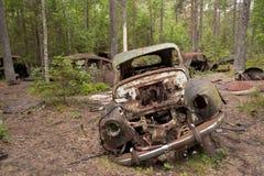 Descarga del coche en Kirkoe Mosse fotografía de archivo libre de regalías