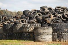 Descarga do pneumático, Cobram Victoria Imagens de Stock