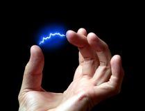 Descarga eléctrica Foto de archivo libre de regalías
