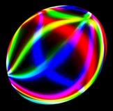 Descarga eléctrica esférica Imagenes de archivo