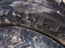 Descarga selvagem de pneus velhos Imagens de Stock
