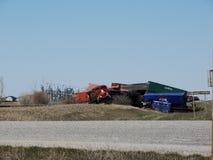 Descarrilamientos del tren del NC Imagen de archivo