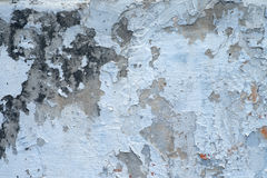Descascamento da parede Foto de Stock