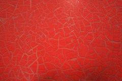 Descascando a textura vermelha 2 Imagens de Stock Royalty Free