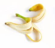 Descasque uma banana Fotos de Stock Royalty Free