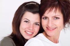 Descendant de mère Photo stock