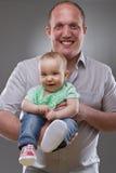 Descendant de mère et de chéri - image mignonne Images stock