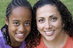 Descendant de mère Photos libres de droits