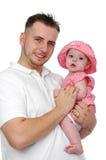 Descendant de père et de chéri Image stock