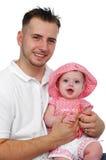 Descendant de père et de chéri Photo libre de droits