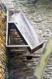 Descendeur pour la roue d'eau Image libre de droits