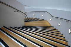 A Descending / ascending Staircase. Royalty Free Stock Image
