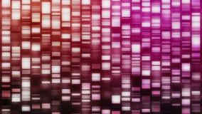 Descending DNA strands stock video