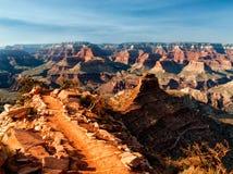 Descending into the Grand Canyon Stock Photo