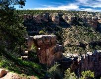 Descending into the Grand Canyon Stock Photography