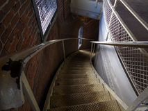 Free Descending Spiral Staircase Royalty Free Stock Image - 43221586