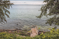 Descendre à la mer Photographie stock