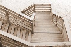 Descendre à la plage photographie stock libre de droits
