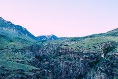 Descenso de cañones del Bighorn Fotografía de archivo libre de regalías