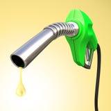 Descenso de la gasolina Imagenes de archivo