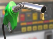 Descenso de la gasolina Fotografía de archivo libre de regalías