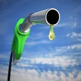 Descenso de la gasolina Fotografía de archivo