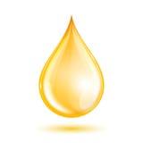 Descenso del aceite Imágenes de archivo libres de regalías