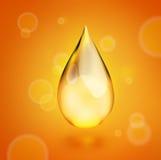 Descenso del aceite, icono libre illustration