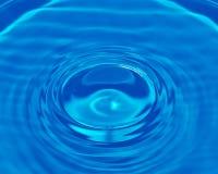 Descenso del agua Imágenes de archivo libres de regalías