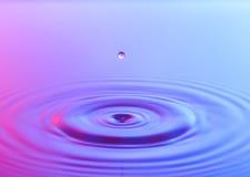 Descenso del agua imagen de archivo