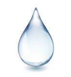 Descenso del agua Foto de archivo libre de regalías