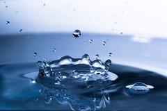 Descenso del agua Fotografía de archivo libre de regalías