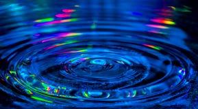 Descenso del agua Fotos de archivo libres de regalías