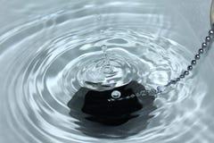 Descenso del agua Foto de archivo