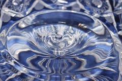Descenso del agua Fotografía de archivo