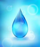 Descenso del agua, icono stock de ilustración
